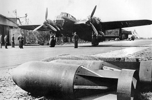 A German Luftwaffe Dornier Do-217 bomber appears ready for a mission (WWII Vehicles.com)